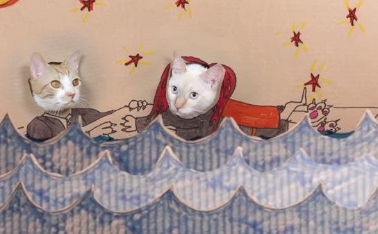 クスッとしたい時に!猫版タイタニック紙芝居がおもしろい